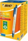 BIC Kugelschreiber ECOlutions Clic Stic 0.4mm blau, 50er Set