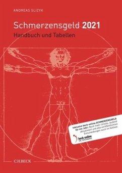 Schmerzensgeld 2021 - Slizyk, Andreas