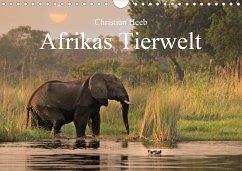 Afrikas Tierwelt Christian Heeb (Wandkalender 2021 DIN A4 quer)