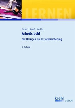 Arbeitsrecht (eBook, PDF) - Bachert, Patric; Strauß, Rainer