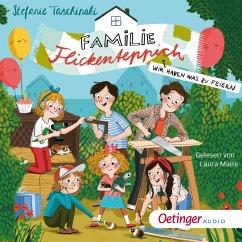 Wir haben was zu feiern / Familie Flickenteppich Bd.2 (MP3-Download) - Taschinski, Stefanie