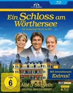 Ein Schloss am Wörthersee-Gesamtbox (Staffel 1 BLU-RAY Box - Tomek,Erich