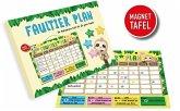 WVG 7771716 - Faultier Plan, Motivations-Tafel für die ganze Familie, Organizer