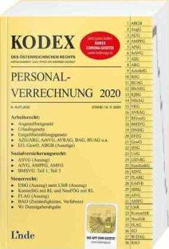 KODEX Personalverrechnung 2020 - Hofbauer, Josef