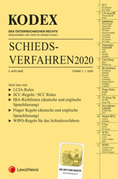 KODEX Schiedsverfahren 2020
