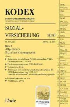 KODEX Sozialversicherung 2020, Band I - Brameshuber, Elisabeth