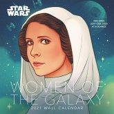 Star Wars Women of the Galaxy 2021 Wall Calendar