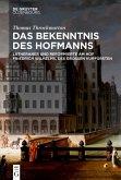 Das Bekenntnis des Hofmanns (eBook, PDF)