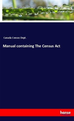 Manual containing The Census Act
