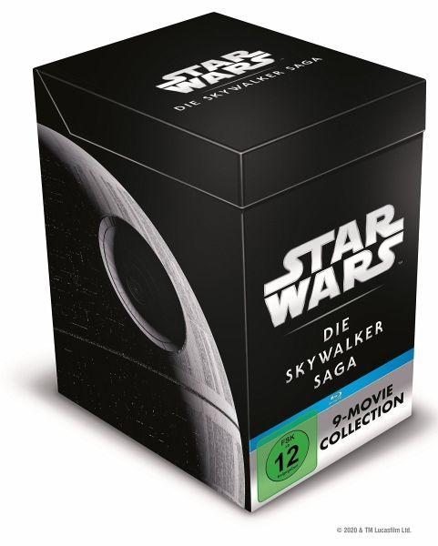 Star Wars 1 - 9 - Die Skywalker Saga, 18 Blu-ray