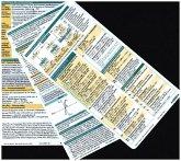 Lungenfunktion pocketcard Set