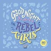 Good Night Stories for Rebel Girls 2021 Wall Calendar