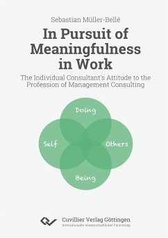 In Pursuit of Meaningfulness in Work. The Individual Consultant's Attitude to the Profession of Management Consulting - Müller-Bellé, Sebastian