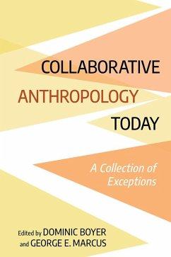 Collaborative Anthropology Today (eBook, ePUB)