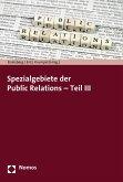Spezialgebiete der Public Relations - Teil III (eBook, PDF)