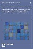 Standards und Abgrenzungen im internationalen Familienrecht (eBook, PDF)