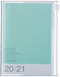 MARK'S 2020/2021 Taschenkalender A6 vertikal, COLORS Mint.
