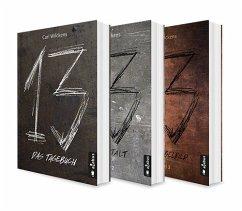 Dreizehn Band 1-3: Das Tagebuch / Die Anstalt / Das Spiegelbild - Wilckens, Carl