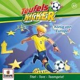 Die Teufelskicker - König von Europa!, 1 Audio-CD