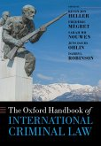 The Oxford Handbook of International Criminal Law (eBook, PDF)