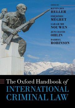 The Oxford Handbook of International Criminal Law (eBook, PDF) - Robinson, Darryl