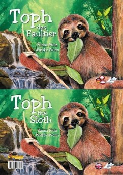 Toph das Faultier / Toph the sloth - Pfolz, Karina; Worm, Wiebke