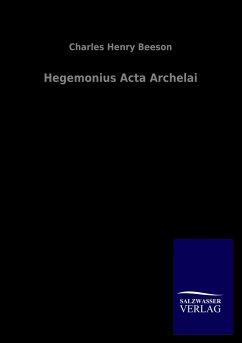 Hegemonius Acta Archelai