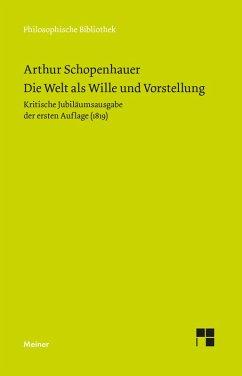 Die Welt als Wille und Vorstellung (eBook, PDF) - Schopenhauer, Arthur