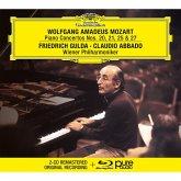 Mozart: Klavierkonzerte 20,21,25 & 27 (Bra)