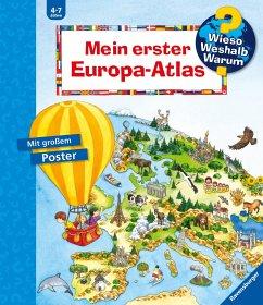 Mein erster Europa-Atlas - Erne, Andrea
