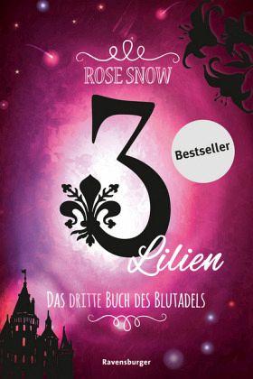 Buch-Reihe 3 Lilien