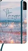 myNOTES Notizbuch A6: The magic is in you - notebook small, blanko - für Träume, Pläne und Ideen / ideal als Bullet Journal oder Tagebuch