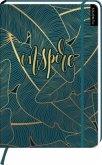 myNOTES Notizbuch A4: Inspire - notebook large, dotted - für Träume, Pläne und Ideen / ideal als Bullet Journal oder Tagebuch
