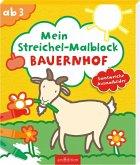 Mein Streichel-Malblock Bauernhof