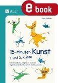 15-Minuten-Kunst 1. und 2. Klasse (eBook, PDF)