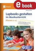 Lapbooks gestalten im Musikunterricht Kl. 2-4 (eBook, PDF)