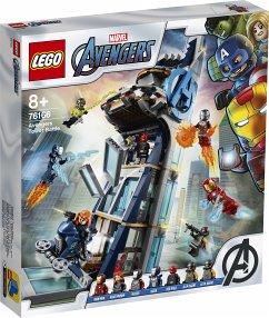 LEGO® Marvel Super Heroes 76166 Avengers # Kräftemessen am Turm