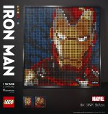 LEGO® Art 31199 Marvel Studios Iron Man Kunstbild