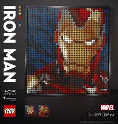 LEGO® Art 31199 Marvel Studios Iron Man Kunstbild