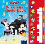 Micky Mouse - Spiel Klavier mit uns - Disney Junior Liederbuch mit Klaviertastatur - Vor- und Nachspielfunktion - 10 beliebte Kinderlieder - Pappbilderbuch