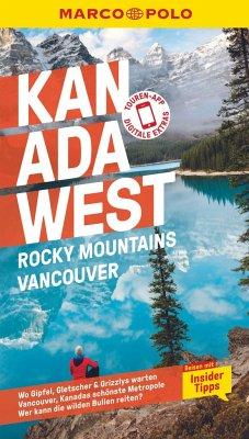 MARCO POLO Reiseführer Kanada West, Rocky Mountains, Vancouver - Teuschl, Karl