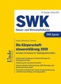 SWK-Spezial Die Körperschaftsteuererklärung 2019