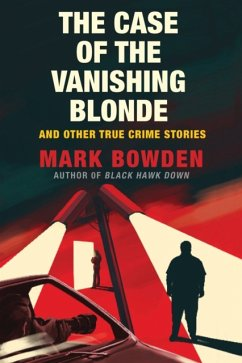 The Case of the Vanishing Blonde - Bowden, Mark