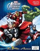 Avengers 2, Spielbuch + 9 Spielfiguren + Spielmatte