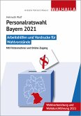 Personalratswahl Bayern 2021, CD-ROM