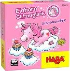 HABA 305510 - Einhorn Glitzerglück, Memozauber, Gedächtnisspiel