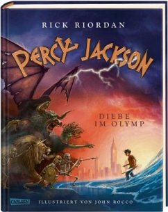 Diebe im Olymp / Percy Jackson Bd.1 (Mängelexemplar) - Riordan, Rick
