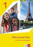 Découvertes 1. Ausgabe 1. oder 2. Fremdsprache. Arbeitsheft mit Lösungen und Mediensammlung 1. Lernjahr