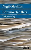 Ehrenwerter Herr (eBook, ePUB)