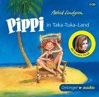 Pippi in Taka-Tuka-Land, 2 Audio-CDs (Mängelexemplar)